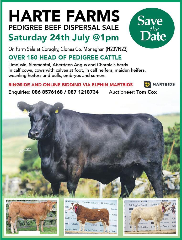 Harte Farms Dispersal 24th July 2021